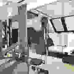 BIRDS EYE VIEW | II | Wnętrza domu Nowoczesna siłownia od ARTDESIGN architektura wnętrz Nowoczesny