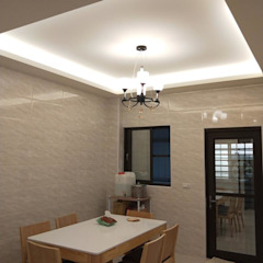 Comedores de estilo minimalista de 頂尖室內設計工程行 Minimalista