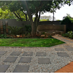Garden revamp by Young Landscape Design Studio Modern