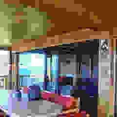 Huzurun İçinde Bir Ev Hayal Edin... Rustik Balkon, Veranda & Teras Gürsoy Kerestecilik Rustik Ahşap Ahşap rengi