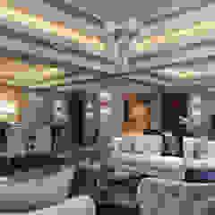 Kareem Mohammed Designs Living roomSofas & armchairs Concrete Beige