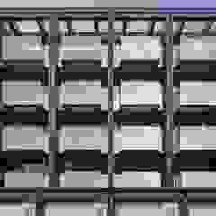玻璃陽台是立面很重要的表情元素 竹村空間 Zhucun Design Offices & stores Glass