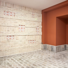 Garage/Rimessa in stile mediterraneo di Idearte Marta Montoya Mediterraneo