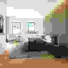 Modern style bedroom by Atrium Projetos e Construção Modern