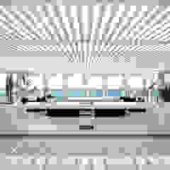 Casa en la Honda Balcones y terrazas minimalistas de ARCHITECTS Minimalista