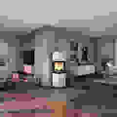 CB stone-tec GmbH Living roomFireplaces & accessories