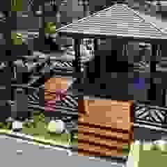 Asian style garden by 茂林樓梯扶手地板工程團隊 Asian