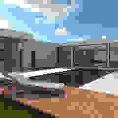 Residência EV | A romântica por Alto Arquitetos Tropical