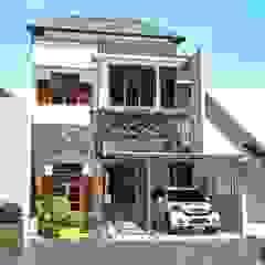 Proposal Rumah Tropis Moderen . GDC – Depok . Jawa Barat Oleh Vaastu Arsitektur Studio Tropis