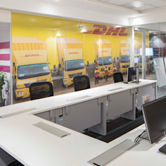 DHL SmartTrucking by Apex Project Solutions Pvt. Ltd. Modern Plywood