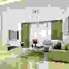 Minimalist style at Bishan Park Minimalist living room by Singapore Carpentry Interior Design Pte Ltd Minimalist