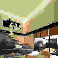 Modern Oturma Odası WERHAUS ARQUITECTOS Modern