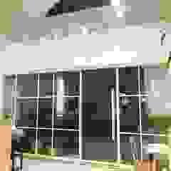 日系無印x法樂里咖啡館 根據 業傑室內設計 鄉村風 鐵/鋼