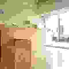日系無印x法樂里咖啡館 根據 業傑室內設計 鄉村風 木頭 Wood effect