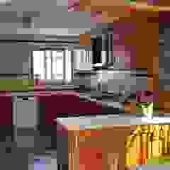 Moradia Isolada em Cascais Cozinhas campestres por EU LISBOA Campestre