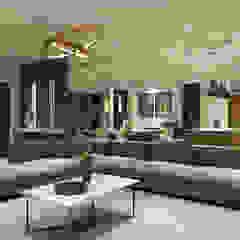 CODIAN CONSTRUCTORA Living room Beige