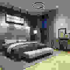 CODIAN CONSTRUCTORA Minimalist bedroom
