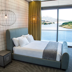 House Ebenezer: A Measure Of Texture Minimalist bedroom by AB DESIGN Minimalist