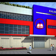 Kalam Kudus School Siantar city Bangunan Kantor Minimalis Oleh Lims Architect Minimalis