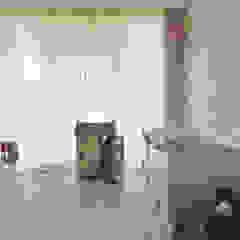 Ćwierkanie na ścianie Eklektyczny pokój dziecięcy od Pracownia Projektowa Poco Design Eklektyczny