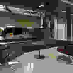 Lobby City Space od Pracownia Projektowa Poco Design Industrialny