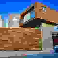 Oleh RFoncerrada arquitectos Minimalis Kayu Wood effect