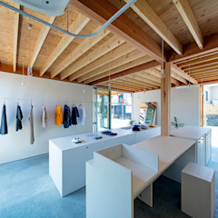 من すずき/suzuki architects (一級建築士事務所すずき) إسكندينافي خشب Wood effect