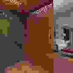 Apartamento 220mts Corredores, halls e escadas clássicos por NSFAZ ARQUITETURA E CONSTRUÇÃO Clássico