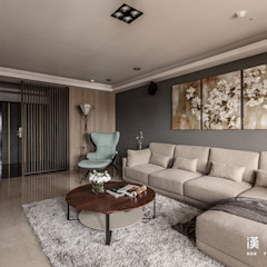 Modern Living Room by 漢玥室內設計 Modern