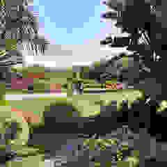 Paisajismo Campo-Playa, Lima Perú Jardines de estilo tropical de DECOGARDEN: PAISAJISMO Y JARDINERÍA Tropical