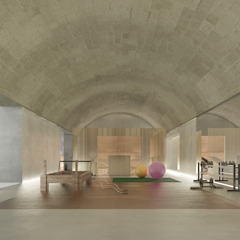 Eclectic style gym by architetto stefano ghiretti Eclectic
