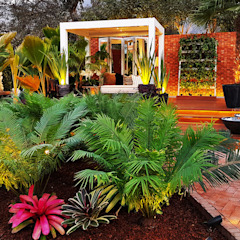 CASACOR 2017 Jardines de estilo tropical de Marcia Lenz Paisajismo Tropical