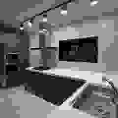 Cocinas de estilo moderno de Design Daroom 디자인다룸 Moderno