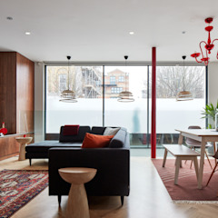 Canal House by IQ Glass UK Modern گلاس