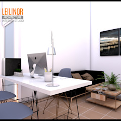 CV Leilinor Architect Studio minimalista