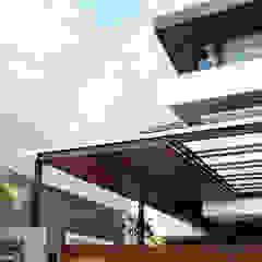 Shared Ambience Oleh AIGI Architect + Associates Asia Kayu Wood effect
