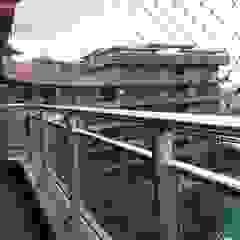 Redes de proteção para varandas Varandas, marquises e terraços industriais por ANTIKEDA Industrial Plástico