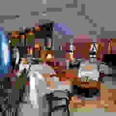 SUPER LOFT Salas multimídia ecléticas por Fernando Menezes Arquitetura Eclético