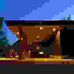 من 金田博道建築研究所株式会社 إنتقائي خشب Wood effect