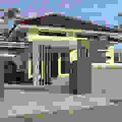 Rumah jabatan dinas peternakan SUL-SEL Oleh A-7 STUDIO Minimalis