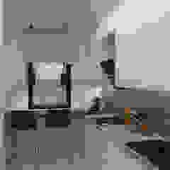 Kuchnia w apartamencie od Senola Architektura & Design Minimalistyczny