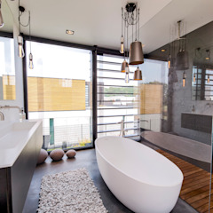 Woonhuis MNRS Eindhoven Moderne badkamers van 2architecten Modern
