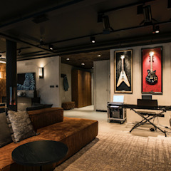 oeiras | iD project Salas de estar industriais por Santiago | Interior Design Studio Industrial