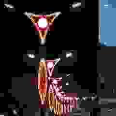 Dekoratif Aydınlatma Direkleri palmiye aydınlatma Endüstriyel Aluminyum/Çinko