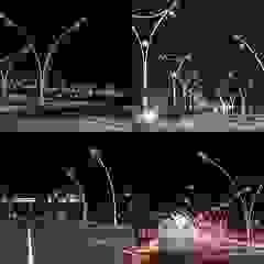 Yüksek Yol Aydınlatma Direkleri palmiye aydınlatma Akdeniz Aluminyum/Çinko