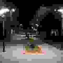 Park bahçe aydınlatma direkleri palmiye aydınlatma Tropikal Aluminyum/Çinko
