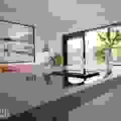 Joep Schut, interieurmaker KitchenCabinets & shelves MDF Turquoise