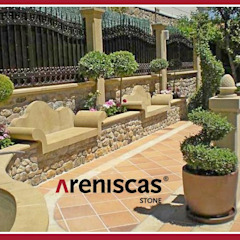 ARENISCAS STONE Garden Furniture Stone Multicolored