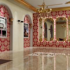 Stamina Yapı Mim.Müh.Dek.İnş.Nak.San.Tic.Ltd.Şti. Rustic style offices & stores Wood-Plastic Composite Red