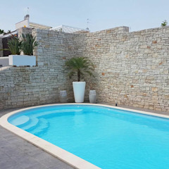 Maisons modernes par Trani Gold Stone - la pietra di Trani Moderne Pierre
